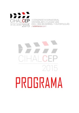 Portada Programa CIHALCEP2015